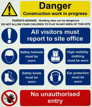construction site safety plan pdf